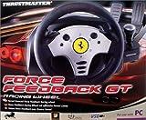 echange, troc Thrustmaster Ferrari Force Feedback GT Racing Wheel - Ensemble volant et pédales - 4 bouton(s) - noir, argenté(e)