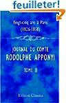 Vingt-cinq ans � Paris, 1826-1850: Jo...