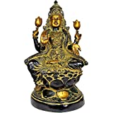 Exotic India Goddess Lakshmi - Brass Statue