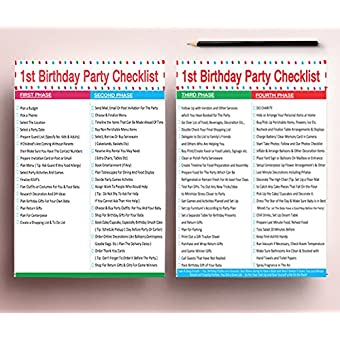 photo about 1st Birthday Party Checklist Printable called 1st Birthday Woman Balloons Mounted - Reward - Printable Occasion Planner and Checklists Provided - Best for Your Daughters To start with Birthday Get together