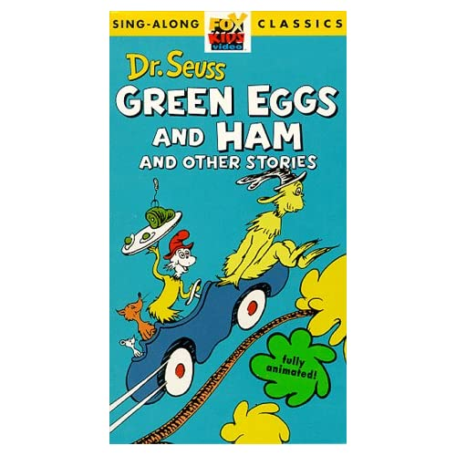 Dr Seuss Green Eggs And Ham And Other
