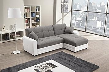 Cod.00673313 - Divano angolare letto completo di contenitore