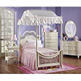 Ball Gown Pink Twin Bed Set
