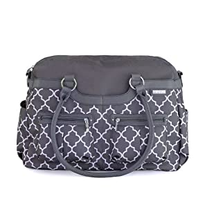 jj cole satchel diaper bag stone arbor diaper tote bags baby. Black Bedroom Furniture Sets. Home Design Ideas