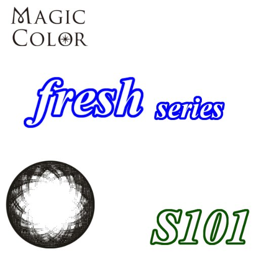 MAGICCOLOR (マジックカラー) fresh S101 度なし 14.5mm 1ヵ月使用 2枚入り