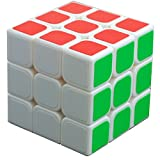 Amazon.co.jpBenRanルービックキューブ 競技用 スピードキューブ3x3x3  スムーズ回転立体パズル (白素体)