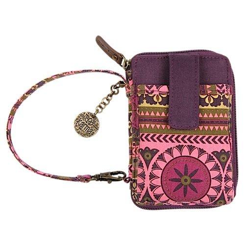Karma Women's Fashionable Multipurpose Pocket Wristlet Wallet