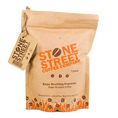 KNEE BUCKLING ESPRESSO High Caffeine | Fine Grind Coffee | 1 LB Bag | Extra Strong | Medium Dark Roast | Bold & Balanced Intense Flavor | Ground Fresh | 100% Arabica (Expresso Extra Fine compare prices)