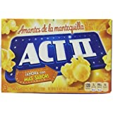 Act II Butter Lovers Microwavable Popcorn, 3 Count (Pack of 12)