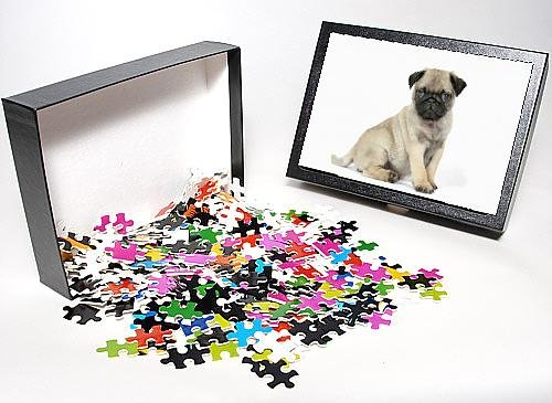 Photo Jigsaw Puzzle Of Dog. Pug ( Fawn ) 7 Week Old Puppy front-893406