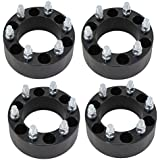 """Titan Wheel Accessories t200-655-655-1415-4 Set of 4 2"""" inch (50mm) 6x5.5 to 6 x 5.5 Wheel Spacers Adapters 14x1.5 Studs"""