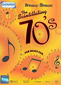 The Scintillating 70's Nostalgic Moments Hindi (Film Songs DVD/indian/bollywood/classic filmy/70's coolection)