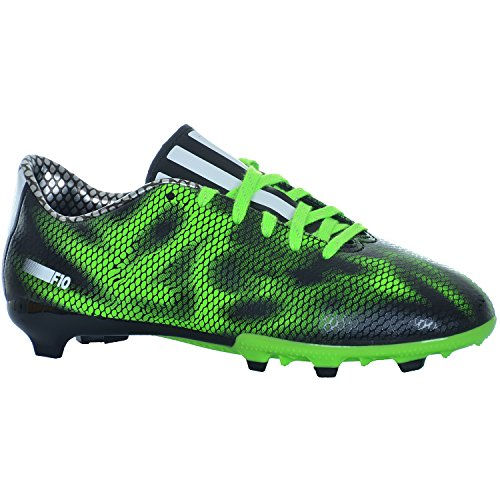 Adidas F10 FG J Fussballschuhe Schuhe Fußball Schwarz Grün B35983