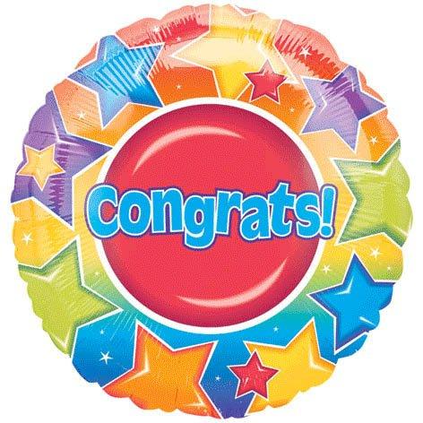 "18"" Congrats Stars Vlp"