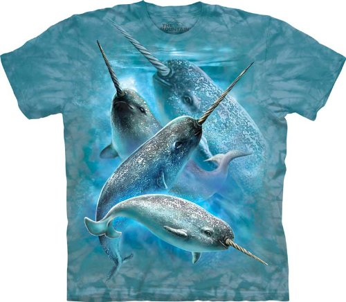 The Mountain Narwals Adult T-Shirt Xl front-149333