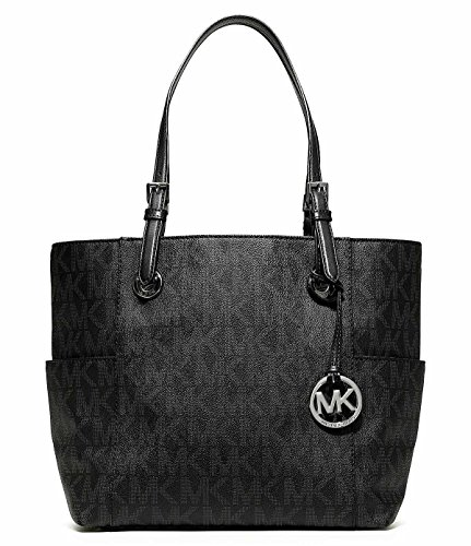 Image of MICHAEL Michael Kors Jet Set East/West Signature Tote Black One Size