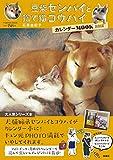 豆柴センパイと捨て猫コウハイ カレンダーMOOK 2015 (扶桑社ムック)
