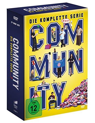 Community - Die komplette Serie (17 Discs) (exklusive Vorab-Veröffentlichung bei Amazon.de)