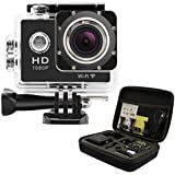 GeekPro® Pro 1 WIFI 12MP HD 1080P Sports Camera Action DV + Shockproof Carrying Bag Waterproof 170° Wide Helmet Camcorder