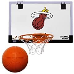 Buy NBA Game On Indoor Basketball Hoop & Ball Set by Licensed Products