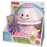 Fisher-Price Laugh & Learn My Pretty Learning Lamp (Color: White and Pink)