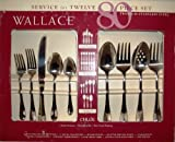 Wallace Antique Baroque 65-Piece Stainless-Steel Flatware Set