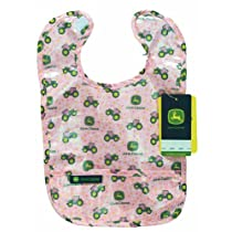 John Deere Coated Bib, Baby Girl