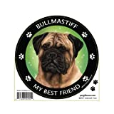 My Best Friend Bull Mastiff Magnet