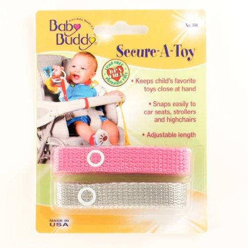 baby buddy secure a toy safety strap secures toys teether or pacifiers to strollers. Black Bedroom Furniture Sets. Home Design Ideas