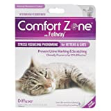 Comfort Zone with Feliway for Cats Diffuser and Single Refill ~ Comfort Zone