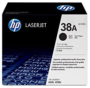 HP Q1338A Laserjet 38A Cartridge - Retail Packaging - Black