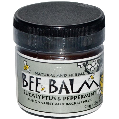 Black Hills Honey Farm, Bee Balm, Sinus Remedy, Eucalyptus and Peppermint, 0.85 oz (24 g)