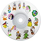 Digitized Embroidery Snow White & The 7 Dwarfs Machine Embroidery Designs CD For Brother Embroidery Machine