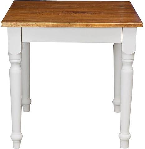 TABLE, BOIS DE NOYER 80x80x78 CM