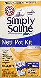 Arm & Hammer Simply Saline Plus Neti Pot Kit