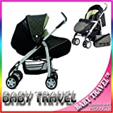 SILVER CROSS 3D PRAMETTE PISTACHIO COMPLETE WITH PRAM LINER, BAG, FOOTMUFF & RAIN COVER