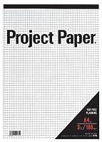オキナ プロジェクトペーパー A4 5mm方眼 PPA45S