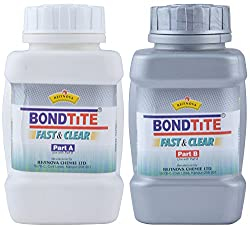 Combo of Bondtite Fast & Clear - Part A and Fast & Clear - Part B (500 Grams)