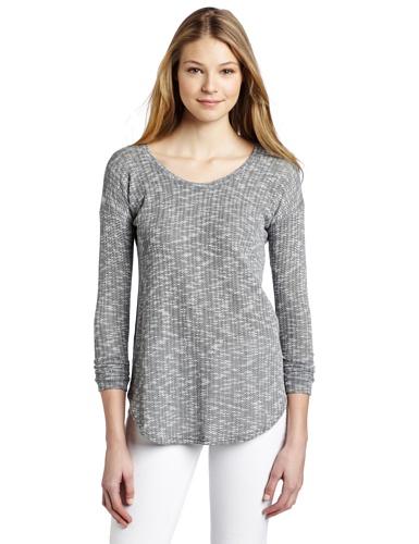 LnA Women's Crepe Pullover Sweater