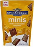 Ghirardelli Minis Pouch, Milk Chocolate Caramel Filling, 4.6 oz.