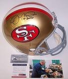 Joe Montana Autographed Hand Signed San Francisco 49ers Throwback Full Size Helmet – PSA/DNA