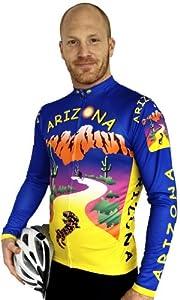 Arizona Long Sleeve Cycling Jersey by Free Spirit Wear