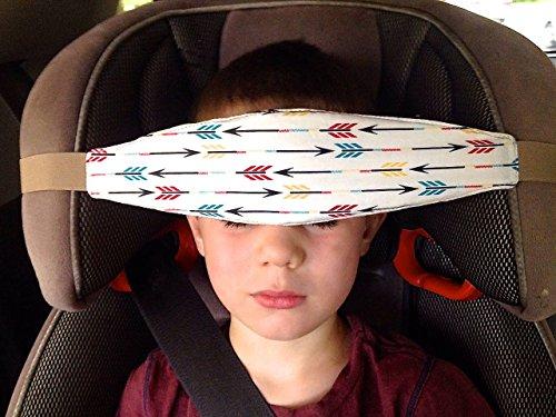 SlumberSling - Number 1. Crash Tested Toddler Car Seat Head Support - Arrows