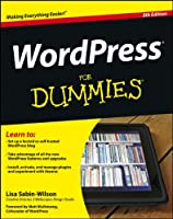 WordPress For Dummies, 5th Edition Front Cover