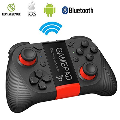 Wireless Gamepad, Costech Bluetooth Game Controller with Cell Phone holder for Iphone, Samsung and Android Smart Phone (Bluetooth Game Controller) (Nes Emulator Console compare prices)