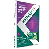 Software - Kaspersky Internet Security 2013: 3 Users (PC) plus 1 Android Smartphone and 1 Android Tablet Licence (1 Year)