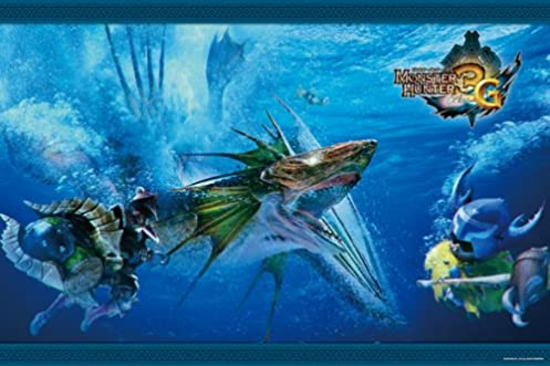 モンスターハンター3G 1000ピース 魚竜種ガノトトス 1000-191