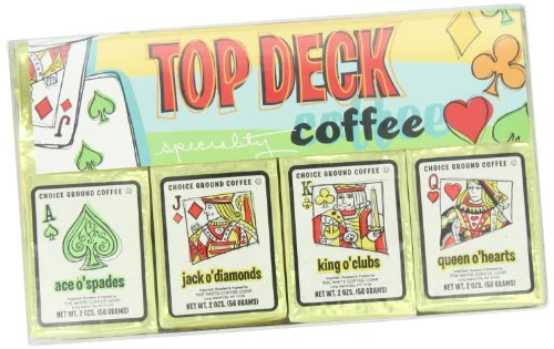 White Coffee Top Deck 4-Flavors Gift Sets (Pack of 2)