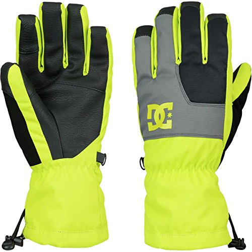 DC Shoes Boys's Seger Gloves Green L