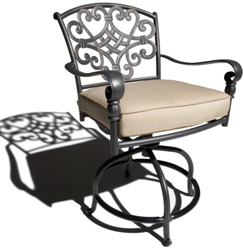 Best deal with strathwood sanibel cast aluminum balcony for Best deals on patio furniture sets